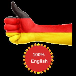100% English